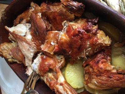 Turismo gastronómico: comer cabrito en Brihuega