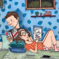 Hay algo realmente hermoso en las relaciones de larga duración y esta artista ha sabido capturarlo