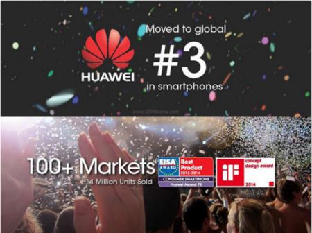 Aunque no lo creas Huawei ya tiene el tercer puesto como fabricante a nivel mundial