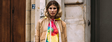 9 estilismos que despertarán el deseo de tener una camiseta tie dye