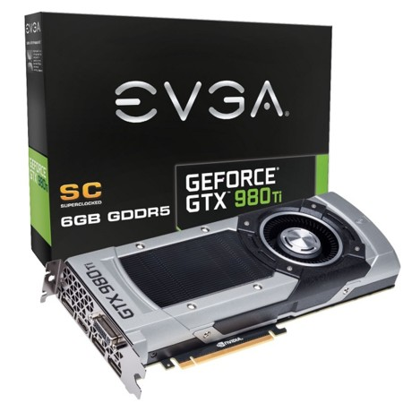 Evga Geforce Gtx980ti Sc