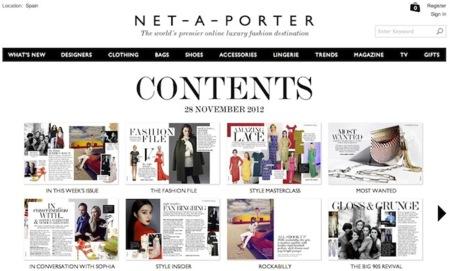 Net-A-Porter también se pasa al papel con una nueva revista