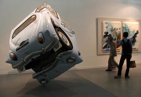 Otro Escarabajo de Volkswagen convertido en cubo.