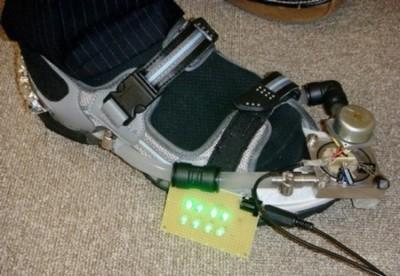 Zapatillas que generan energía al caminar