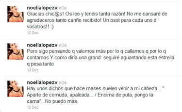 """Me da que Noelia López está más harta de """"la parejita"""" que nosotros"""