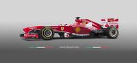 Cómo se fotografió el nuevo Ferrari F138 de Fórmula 1