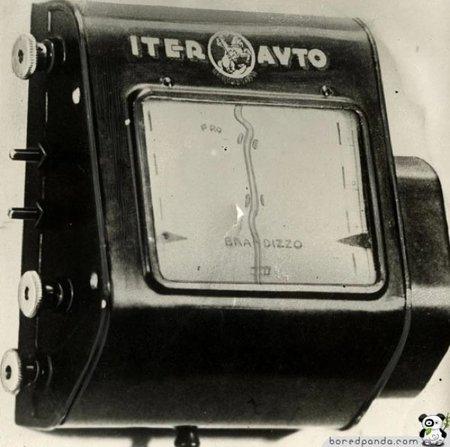 Navegador para coche de 1932