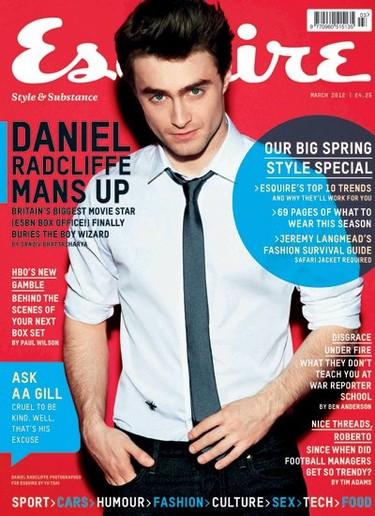 Daniel Radcliffe en Esquire UK: ya no es el niño de antes