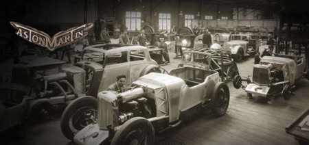 Logos de coches - Aston Martin 1930