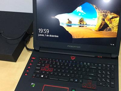 Acer Predator 17 X, análisis: la GTX980 exprimida en un portátil brillante