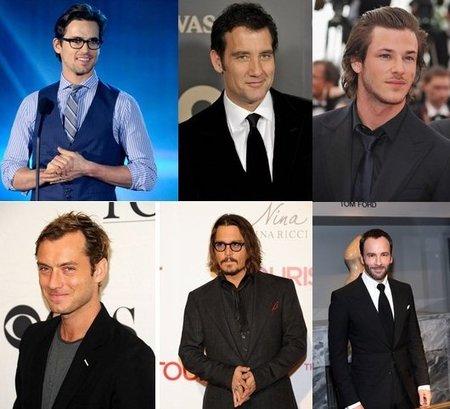 El hombre mejor vestido del 2010 es...