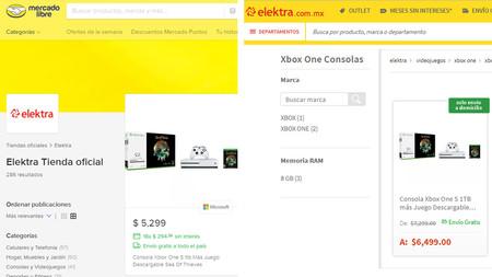 9b7b084635ec8 Decidimos buscar algunos productos directamente en Elektra y en Mercado  Libre para saber si encontrábamos diferencias y los resultados fueron  interesantes.
