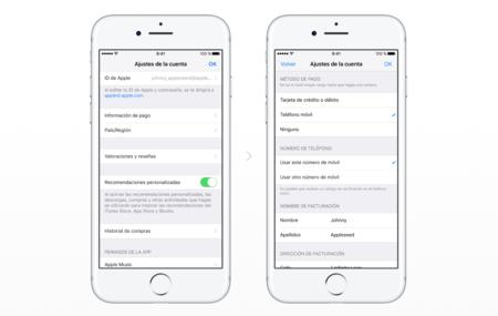 Cómo configurar iPhone para pagar compras mediante factura de Movistar