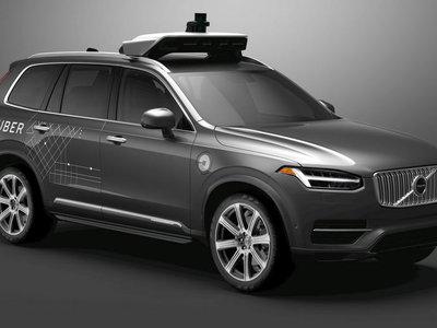 Volvo entregará hasta 24,000 vehículos autónomos para UBER entre 2019 y 2021.