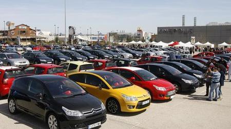 500 Citroën se reunieron en Madrid