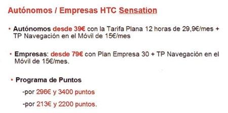 HTC Sensation nuevo