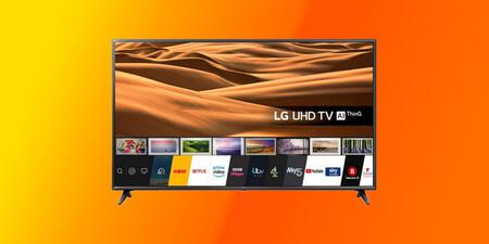 Pantallón con buena rebaja: la Smart TV 4K LG 65UM7050PLA de 2020 está de oferta en Amazon por 579 euros