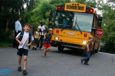 Campaña para la seguridad en el transporte escolar