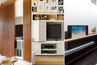 Tres buenas ideas para ocultar la televisión del salón