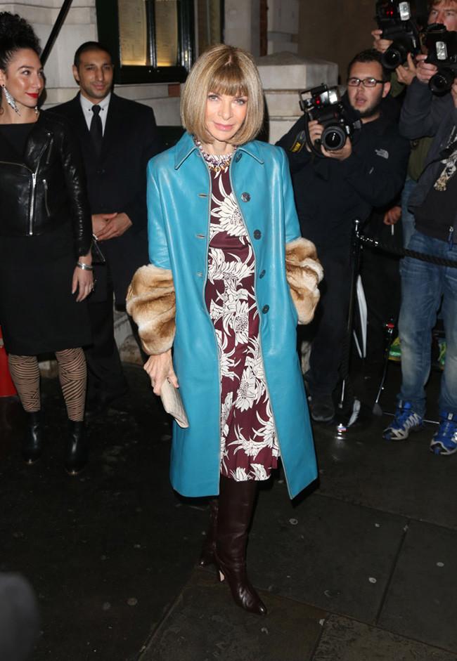 Anna Wintour Londres Semana Moda