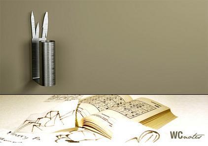 WCNotes, un lapicero para el baño