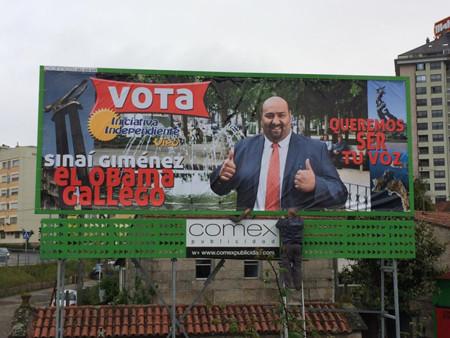 El Obama gallego y otros personajazos de nuestra campaña electoral en las municipales