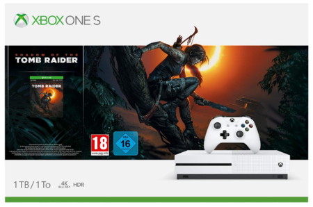 Xbox One S Shadow Of The Tomb Raider