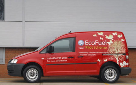 Volkswagen Caddy Ecofuel disponible para el Reino Unido
