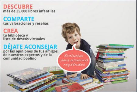¿Cómo se puede fomentar la lectura infantil a través de una red social en Internet?, la respuesta es Boolino