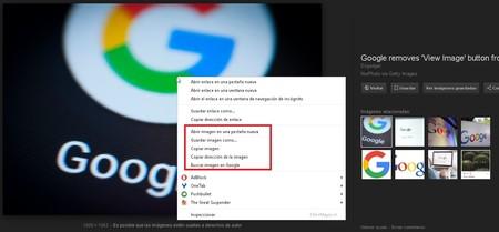 Busqueda Imagenes Google Click Derecho