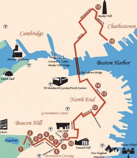 Boston trail