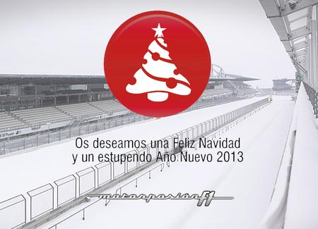 Motorpasión F1 os desea una Feliz Navidad y buen Año Nuevo 2013