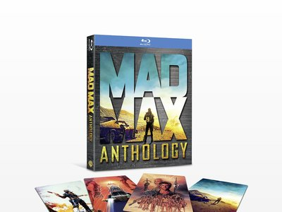 Venta Flash: Pack Mad Max, en formato Blu-ray, por 14,99 euros