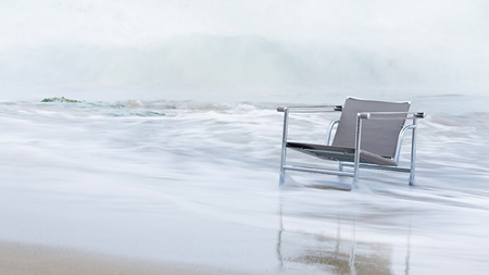Muebles de Le Corbusier para exteriores - LC1