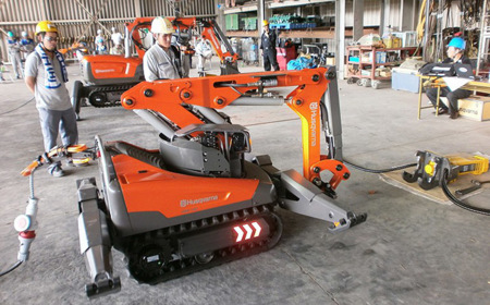 Más robots para trabajar en Fukushima