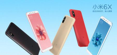 Ya están aquí las primeras imágenes oficiales del Xiaomi Mi 6X, futuro Mi A2
