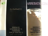 Mineralize Satinfinish Foundation de MAC, una decepción