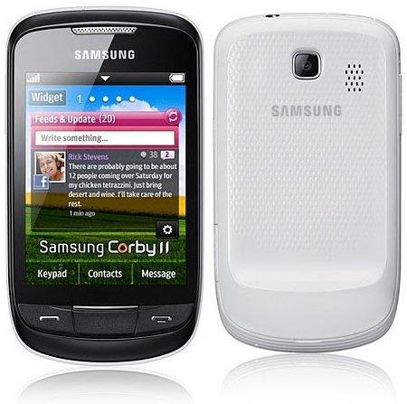 Samsung Corby II, renovación de un superventas