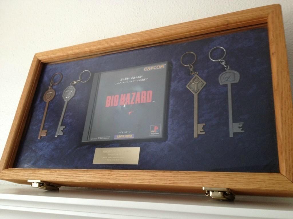 Resident Evil Mansion Keys