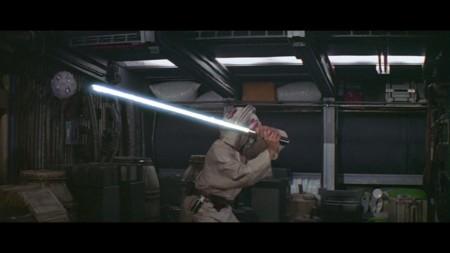 El droide de entrenamiento jedi
