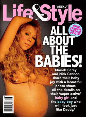 Mariah enseña sobaco