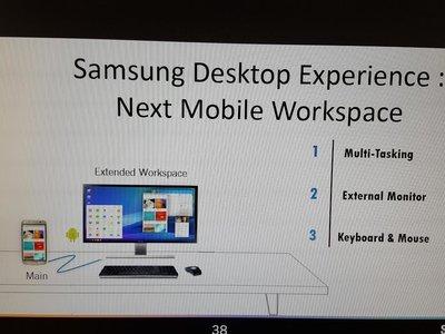 El Galaxy S8 podría llegar con un modo de trabajo para escritorio