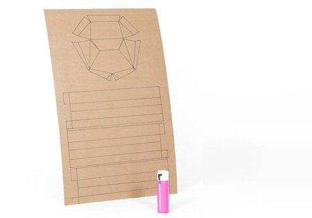 Hazlo tú mismo: un asiento de cartón y espuma