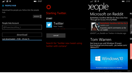¡Por fin! Twitter recibe una actualización para integrarse mejor con Windows Phone 8.1 y Cortana