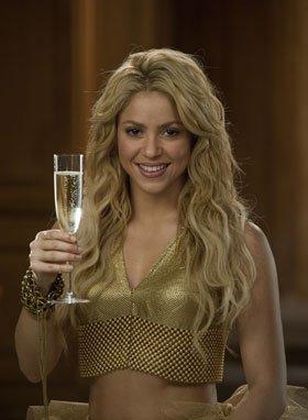 Shakira nos felicita la Navidad con Freixenet