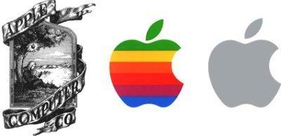 Logos de Apple en estos 30 años