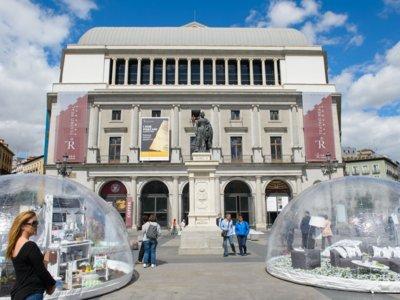 El Corte Inglés llena Madrid de Burbujas de Hogar