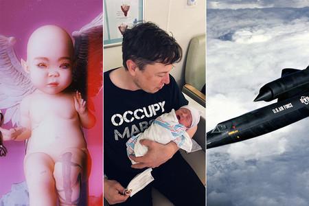"""Un arcángel, un avión militar, una runa: qué significa """"X Æ A-12"""", el hijo de Elon Musk y Grimes"""