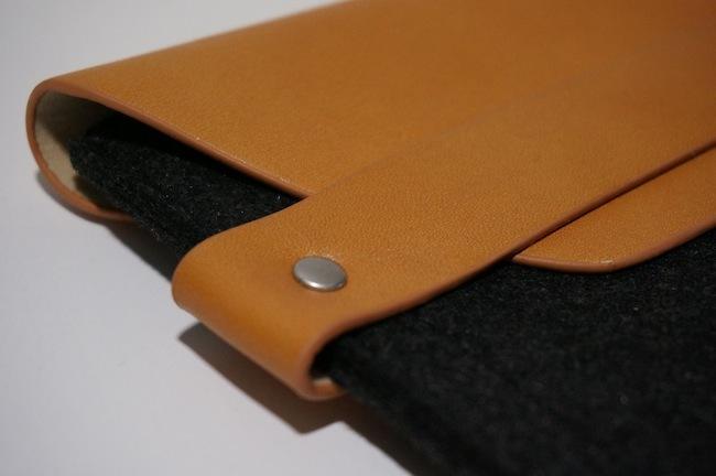 iPad mini sleeve funda detalle ribete