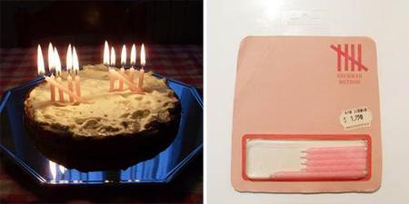 velas curiosas para la tarta - Heckman